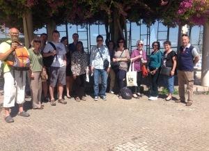 9 - ...A que se seguiu uma visita ao Miradouro de Santa Luzia